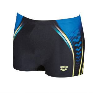 Arena M Arena One Placed Print Short black-pix-blue