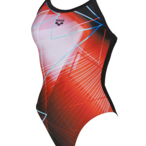 Arena W Firelight Light Drop One Piece L black-multi
