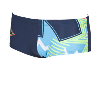 Arena M Lightshow Low Waist Short navy-multi