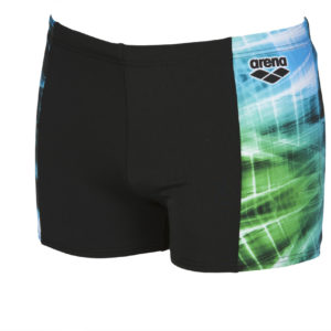 Arena M Cyber Short black-sea-blue