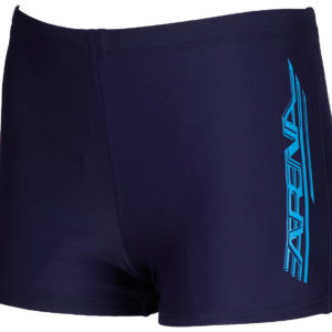 Arena B Blurb Jr Short navy/turquoise