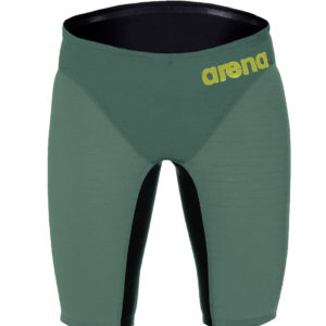 Arena M Carbon Air Jammer dark green/fluo red
