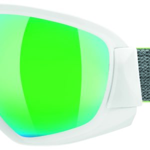 Uvex Contest FM white-mat/green-clear
