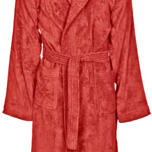 Arena Core Soft Robe Jr red-white