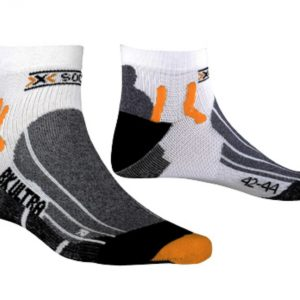 X-socks Biking ultralight white/black