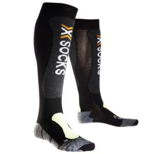 X-socks Skiing Light black/yellow-fluo