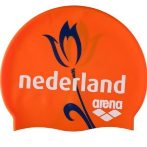 Arena Silicone Cap Nt orange