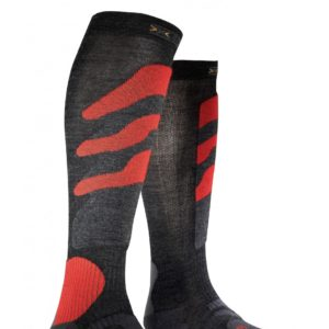 X-socks Ski Precision anthracite/red