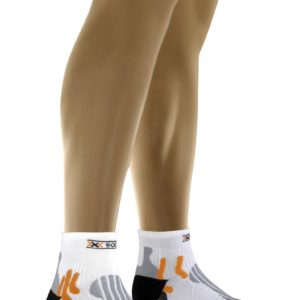 X-socks Evo Run white/black
