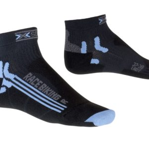 X-socks Bike Racing Lady black/sky-blue