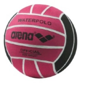 Arena Water Polo Ball Size 4 fuchsia/black