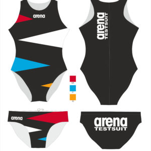 Arena W Waterpolo One Piece FITTING SET (12 Pcs) Ned allover