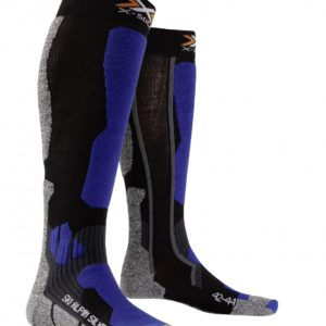 X-socks Ski Alpin Silver black/cobalt-blue