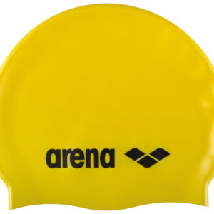 Arena Classic Silicone Jr yellow-black