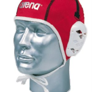 Arena Water Polo Cap 1-15 Fina + Len white/red
