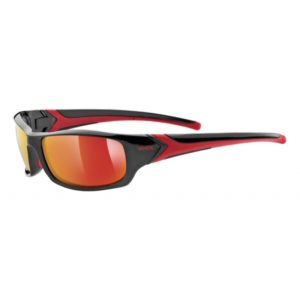 Uvex Sportstyle 211 S3 black/red