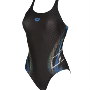 Arena W Briza Swim Pro One Piece L black-pix-blue