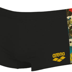 Arena M Batman Low Waist Short black-multi