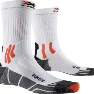 X-Socks Run Epic white/orange
