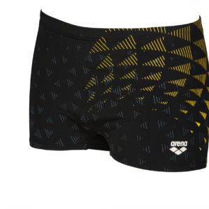 Arena M Arena One Tunnel Vision Short black-yellow-star