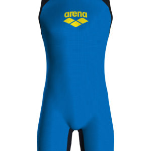 Arena M Pwskin Carbon Speedsuit Rear Zip fast-blue-grey