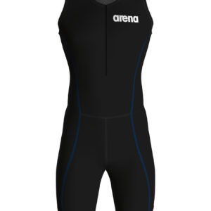 Arena M Trisuit St 2.0 Front Zip black-royal