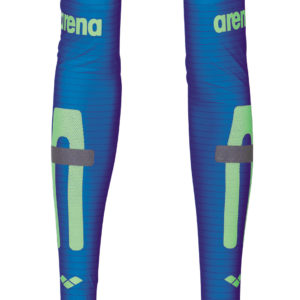 Arena Carbon Compression Arm Sleeves electric-blue