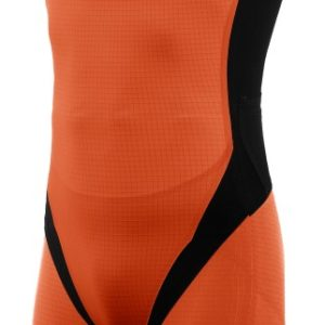 Arena M Zipped Trisuit Carbon Pro fluo-orange/black