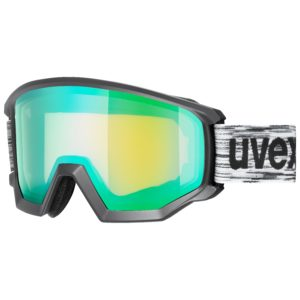 Uvex Athletic FM S2 black-mat/green