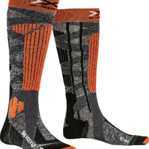 X-Socks Ski Rider 4.0 grey/orange
